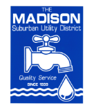 logo for the Madison Suburban Utility District