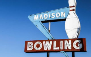 Retro Madison Bowling
