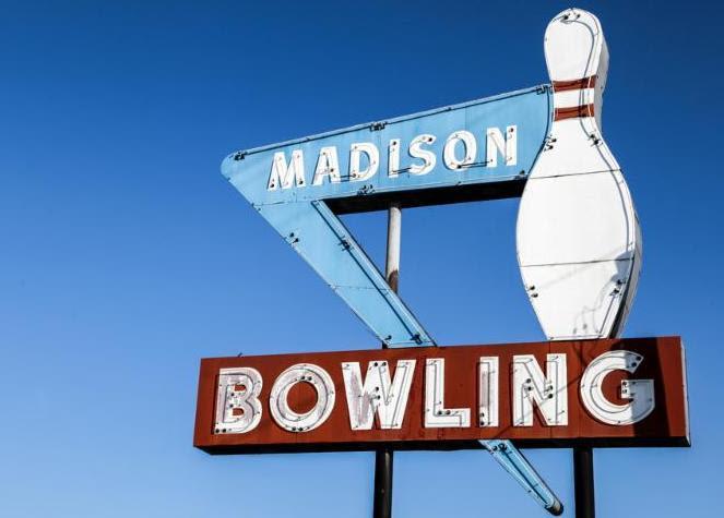 Retro Madison Bowling