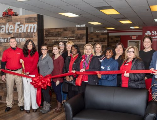 Ribbon Cutting – Congratulations & Welcome to Jennifer Bourne of State Farm!