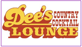 Sign for Dee's Country Cocktail Lounge