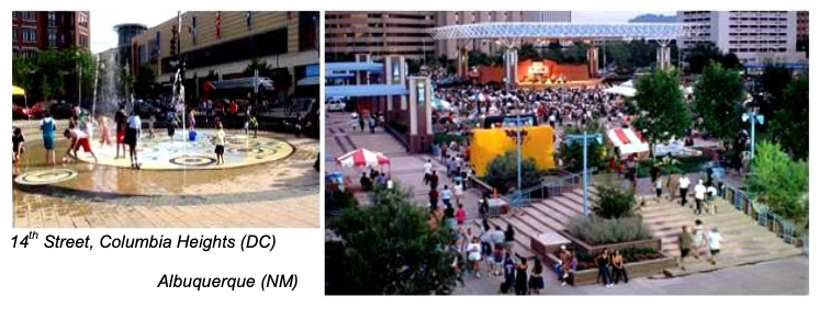 14th Street, Columbia Heights (DC) and Albuquerque (NM)